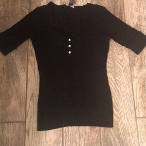 Inc. short sleeve women's sweater